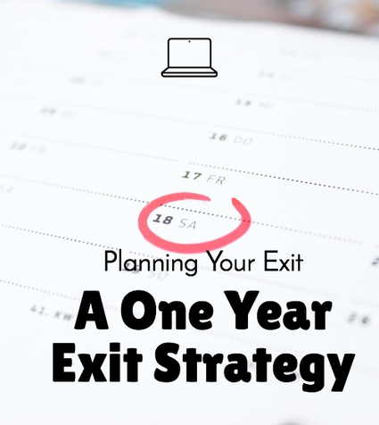 A One Year Exit Strategy Plan U2013 Quiet Light Brokerage Images