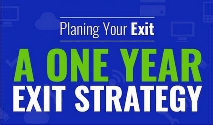 A One Year Exit Strategy Plan U2013 Quiet Light Brokerage Awesome Ideas